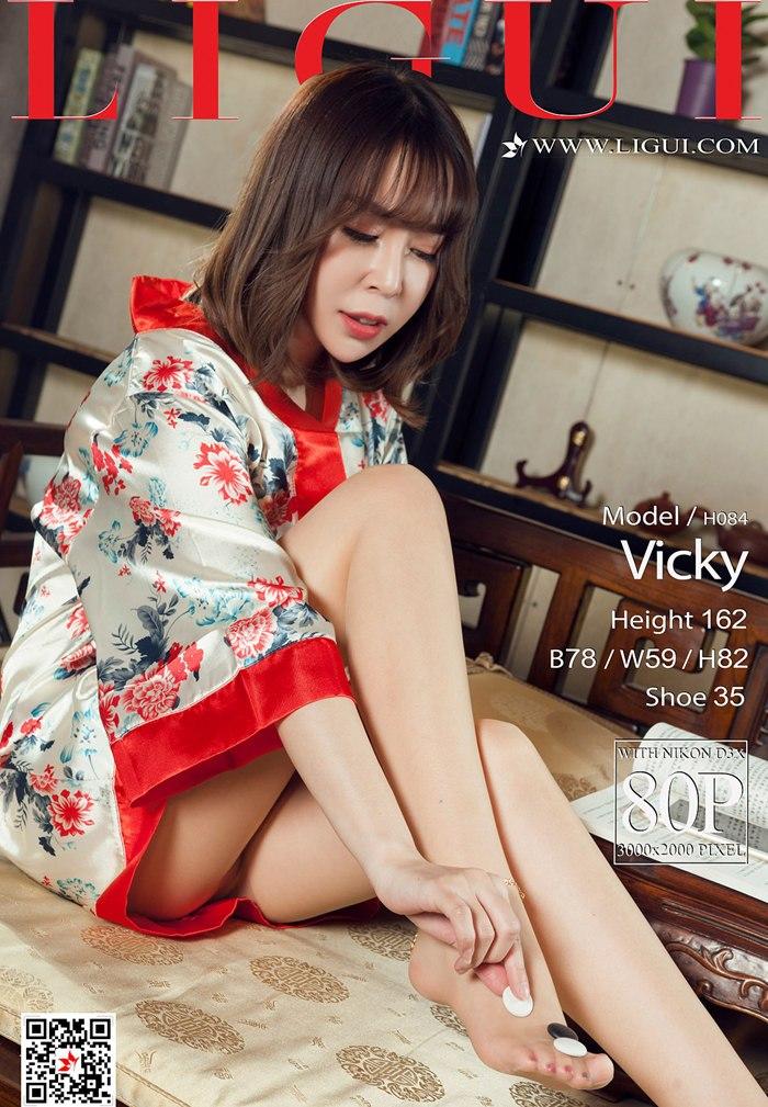 [Ligui丽柜]2018.04.05 Model Vicky[80+1P/90.3M]